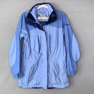Columbia Blue Shell Jacket